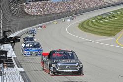 Ben Rhodes, ThorSport Racing Toyota, Austin Cindric, Brad Keselowski Racing Ford