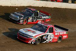 Ty Dillon, MDM Motorsports Chevrolet, Ben Rhodes, ThorSport Racing Toyota