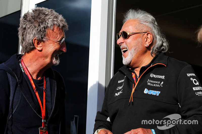 Eddie Jordan, Dr. Vijay Mallya, dueño de Sahara Force India Formula One Team
