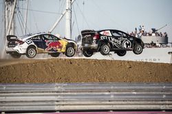 Sebastian Eriksson, Honda, Patrik Sandell, Bryan Herta Rallysport Ford