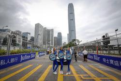 Starting grid, Formula E girls
