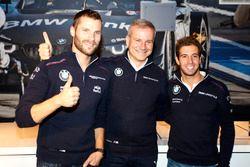 Martin Tomczyk, BMW Team Schnitzer, BMW M4 DTM; Jens Marquardt, BMW, Motorsportdirektor; António Félix da Costa, BMW Team Schnitzer, BMW M4 DTM