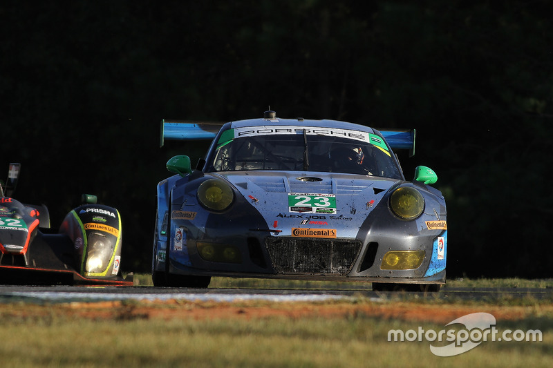 #23 Team Seattle/Alex Job Racing Porsche GT3 R: Mario Farnbacher, Alex Riberas, Ian James