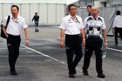 Yusuke Hasegawa jefe de program de Honda F1