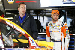 Alan Gustafson, crew chief, with Chase Elliott, Hendrick Motorsports Chevrolet