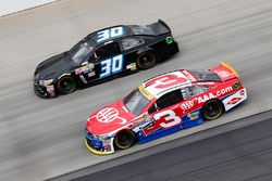 Austin Dillon, Richard Childress Racing, Chevrolet; Josh Wise, The Motorsports Group, Chevrolet
