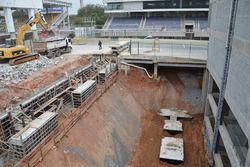 Travaux de rénovation à Interlagos