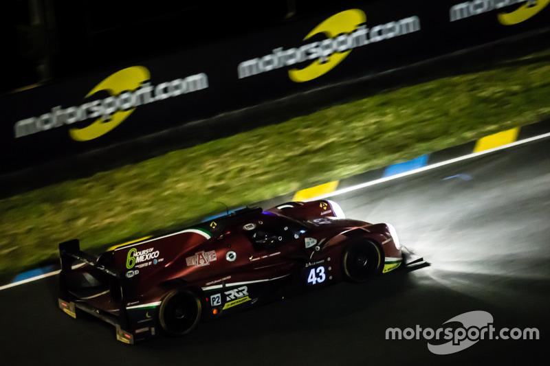 15. #43 RGR Sport by Morand Ligier JSP2 Nissan: Ricardo Gonzalez, Filipe Albuquerque, Bruno Senna