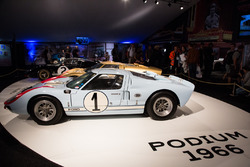 Le Mans 1966 second place Ken Miles, Denis Hulme, Ford GT 40