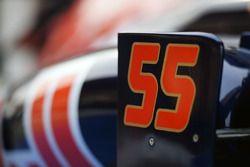 Scuderia Toro Rosso STR11 of Carlos Sainz Jr.