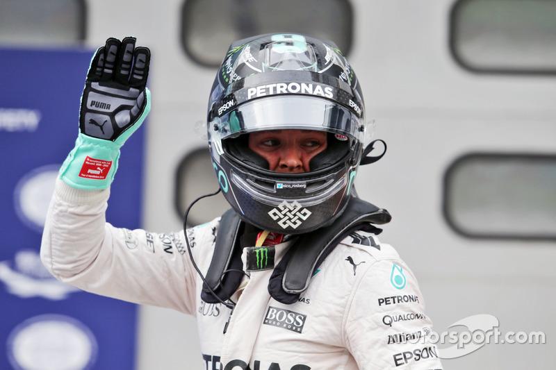 Platz 2 im Qualifying: Nico Rosberg, Mercedes AMG F1