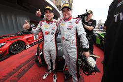 I vincitori della gara #33 Belgian Audi Club Team WRT Audi R8 LMS: Enzo Ide, Robin Frijns
