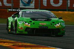 #63 GRT Grasser Racing Team Lamborghini Huracan GT3: Diego Alessi, Nicolas Pohler, Anders Fjordbach,