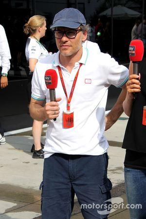 Jacques Villeneuve, Sky Sports F1 Commentator