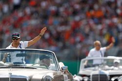 Felipe Massa, Williams during the drivers parade