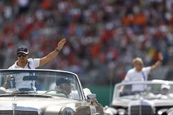 Felipe Massa, Williams tijdens de rijdersparade