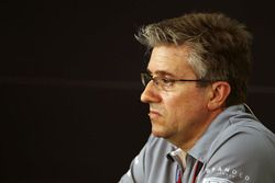 Pat Fry, Manor Racing Engineering Consultant in the FIA Press Conference
