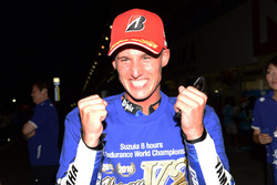 Pol Espargaro vainqueur avec le Yamaha Factory Racing Team (#21)