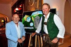 Sir Stirling Moss ve Peter Kraus