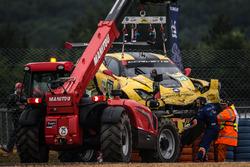 #64 Corvette Racing, Chevrolet Corvette C7-R: Oliver Gavin, Tommy Milner, Jordan Taylor nach einem s