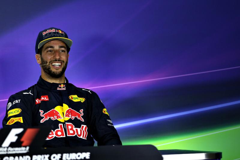 Daniel Ricciardo, Red Bull Racing, Grand Prix en Bakú City Circuit 2016 in Baku, Azerbaijan. (Photo