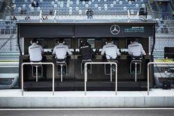 Mercedes AMG F1 Team, Kommandostand