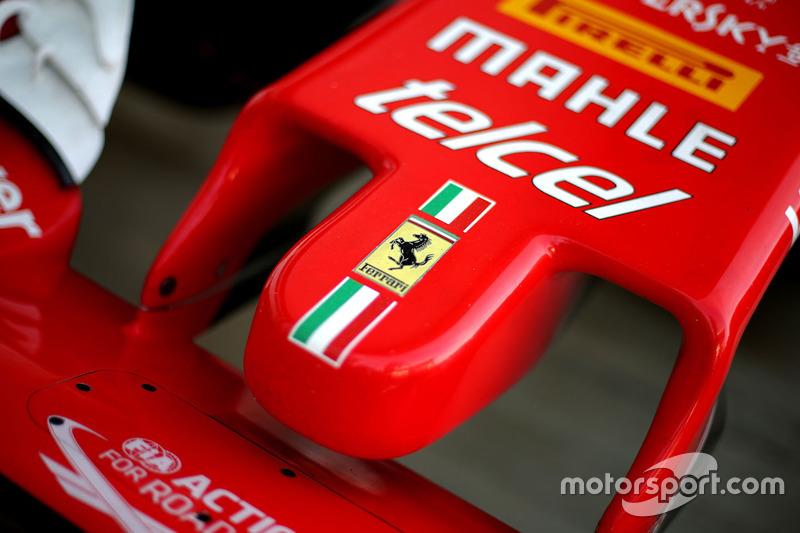 Nase des Ferrari SF16-H