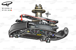 Ferrari SF16H stuurwiel detail