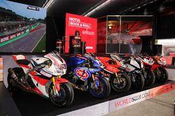 Les motos du World Superbike dans la FanZone