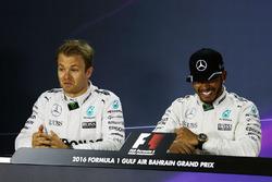 Conferencia de prensa: Lewis Hamilton, Mercedes AMG F1 Team y Nico Rosberg, Mercedes AMG F1 Team