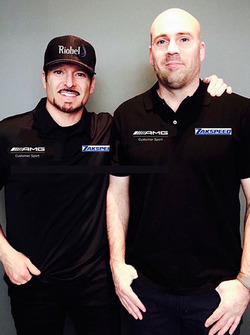 Alex Tagliani and Jean-Frederic Laberge