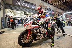 #50 Suzuki: Gregg Black, Grégory Fastré, Alex Cudlin