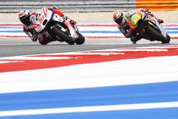 Michele Pirro, Pramac Racing, et Alvaro Bautista, Aprilia Racing Team Gresini