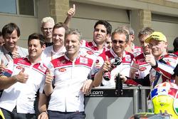 Sam Lowes, Federal Oil Gresini Moto2, Kalex with the team