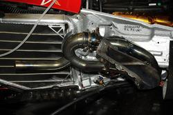 Ferrari v10, detalle
