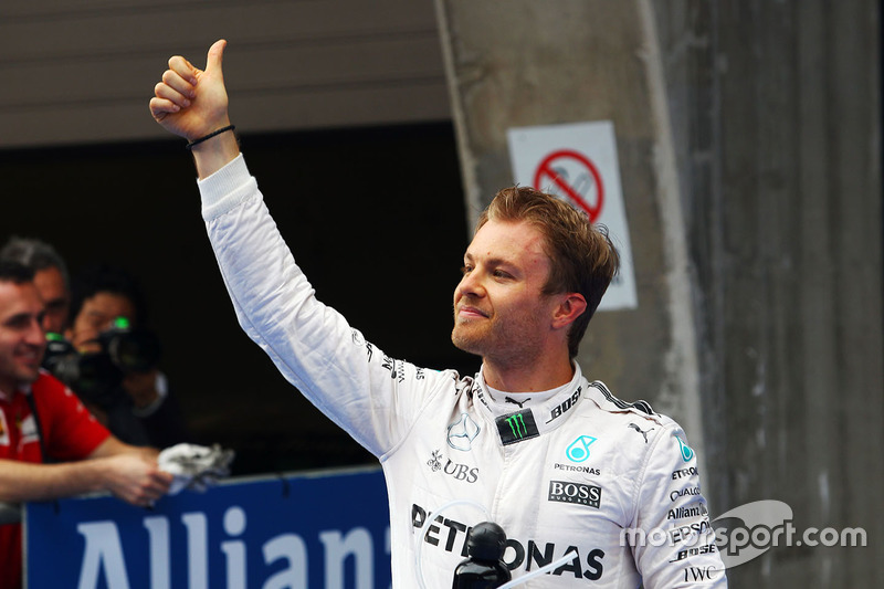 23e pole position pour Nico Rosberg