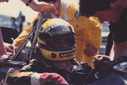 Айртона Сенна, Lotus 98T-Renault
