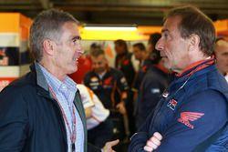 Mike Doohan y Livio Suppo, Repsol Honda Team Team Principal