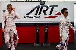 Sergey Sirotkin, ART Grand Prix et Nobuharu Matsushita, ART Grand Prix