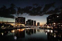 La rivière Yarra, à Melbourne