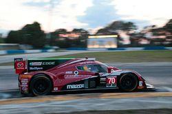 #70 Mazda Motorsports Mazda Prototype: Joel Miller, Tom Long, Ben Devlin, Keiko Ihara