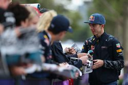 Pierre Gasly, Red Bull Racing with fans