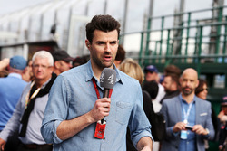 Steve Jones, Channel 4 F1 Presentador