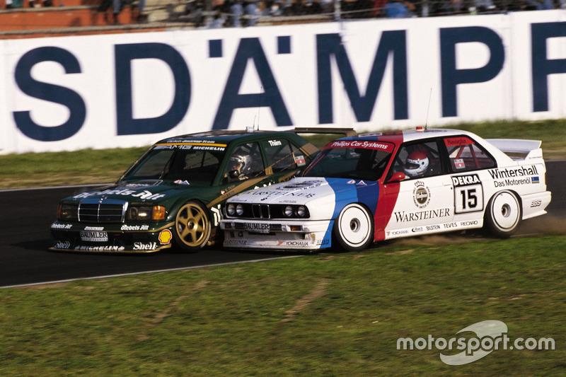 Курт Тим, Mercedes 190E 2.5-16 Evo2 и Роберто Равалья, BMW M3 Sport Evolution
