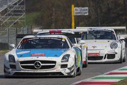 #17 IDEC SPORT RACING Mercedes SLS AMG GT3: Patrice Lafargue, Paul Lafargue, Gabriel Abergel, Sacha