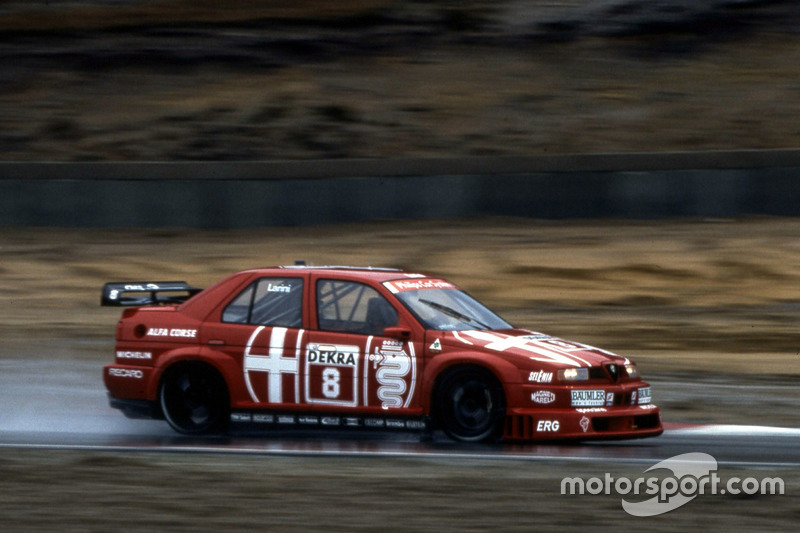 Nicola Larini (Alfa Romeo 155 V6 TI): Zolder 1993