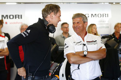 Oliver Blume, Chairman of the Executive Board of Porsche AG, Fritz Enzinger, Vice President LMP1, Po