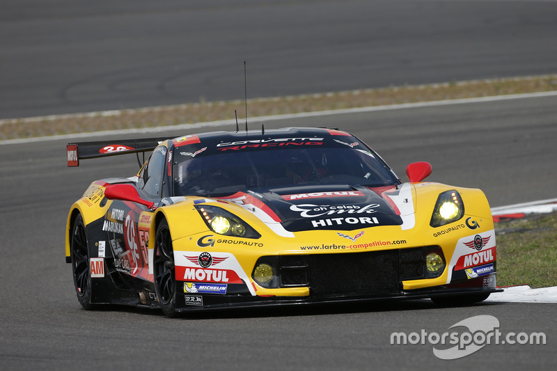 4. GTE-Am: #50 Larbre Competition, Corvette C7.R: Paolo Ruberti, Yutaka Yamagishi, Pierre Ragues