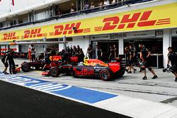 Daniel Ricciardo, Red Bull Racing RB12 et Max Verstappen, Red Bull Racing RB12