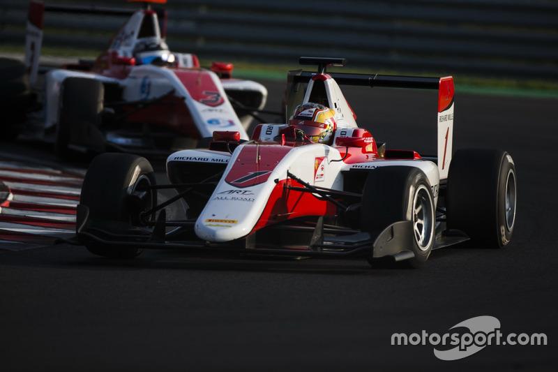 Equipo campeón de la GP3 en 2016: ART Grand Prix
